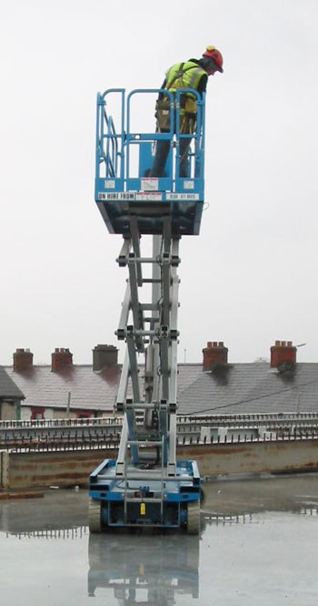 Mobile Elevated Work Platform Training with Industrial Transport Training