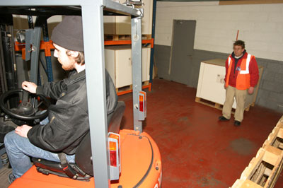 Forklift & Warehouse Training with Industrial Transport Training